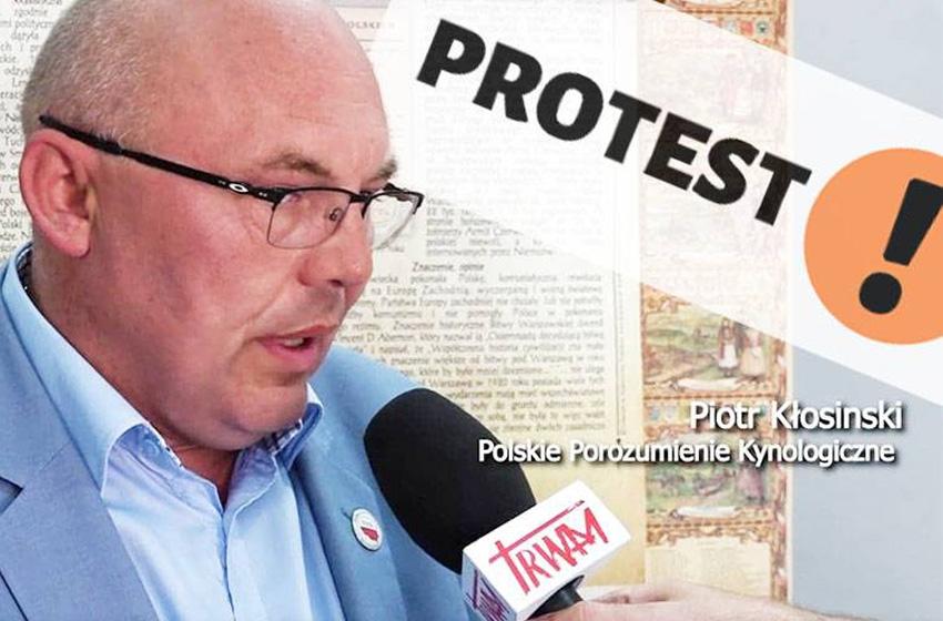 Ruszyły protesty kynologów w całej Polsce!