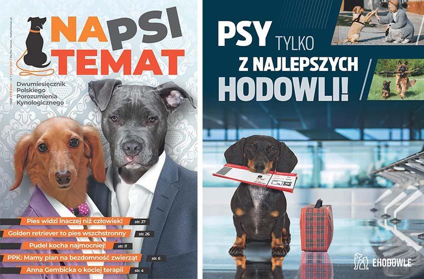 Zamów BEZPŁATNY numer magazynu Na Psi Temat! Napisz do nas!