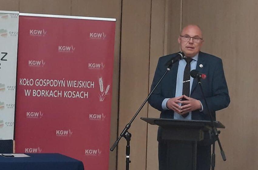 Hodowca psów i lider polskich kynologów na VII Kongresie Rolników RP